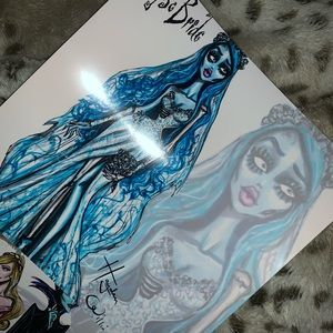 Tim burton corpse bride photo print